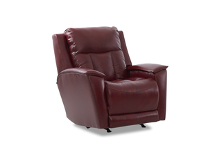 NEW - Clifford Leather Power Recliner w/ Power Headrest