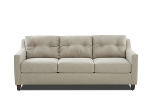 "NEW - Reggie 87"" Button Back Sofa"