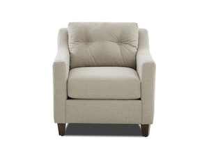 NEW - Reggie Casual Chair and Ottoman