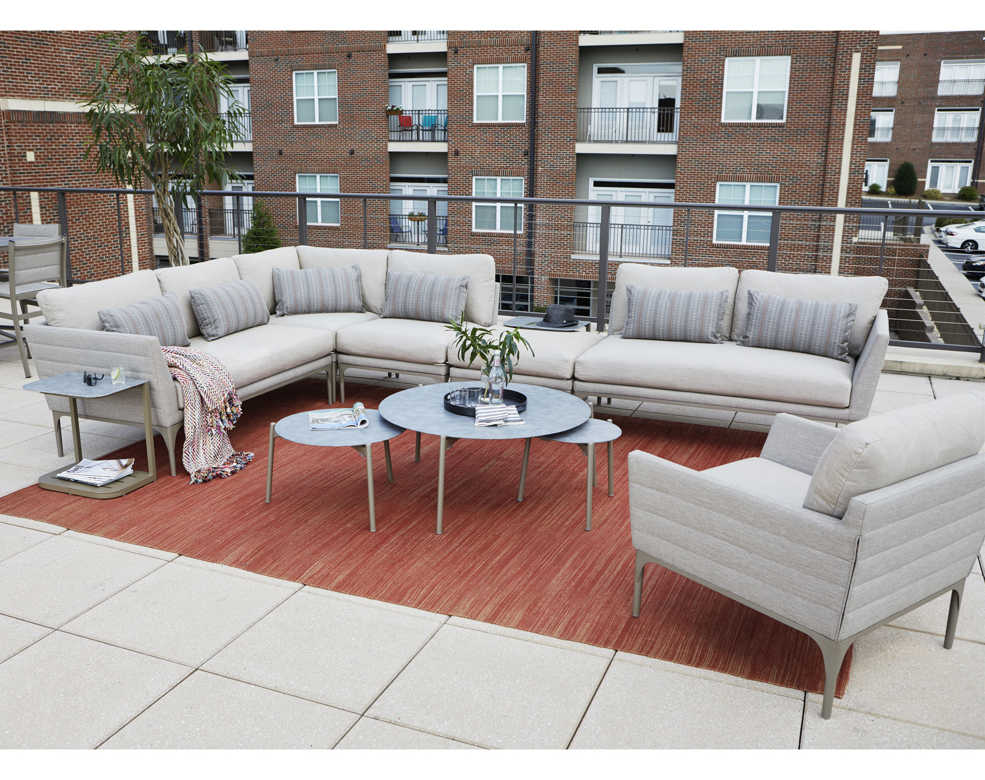Urban Retreat Oval Outdoor Tables