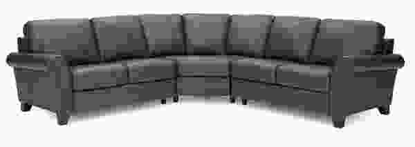 Rosebank 77429 Sectional- Over 100 Leathers