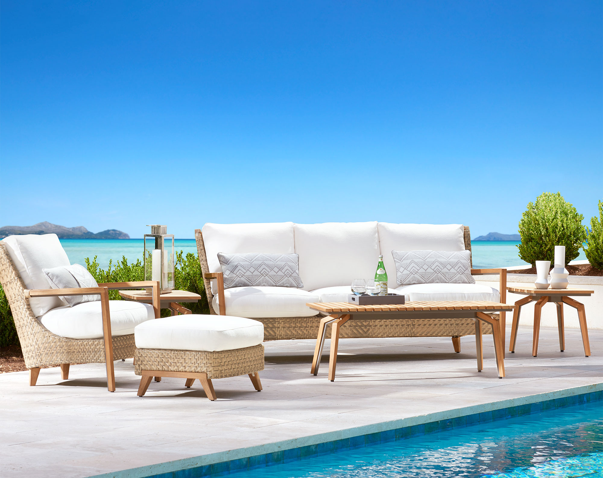 Cote D Azur Outdoor Sofa Collection