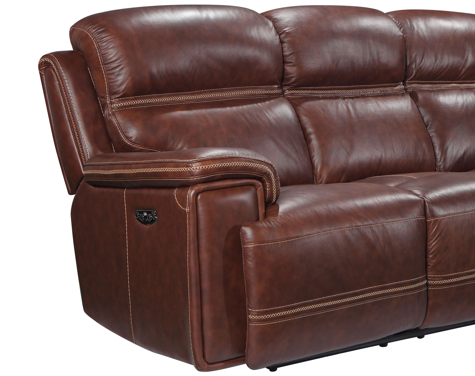 Outstanding Fresno 91 Leather Reclining Sofa W Power Sofas And Pabps2019 Chair Design Images Pabps2019Com