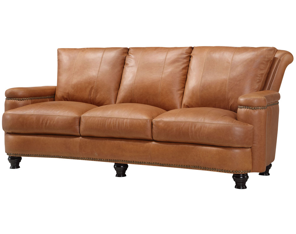 - Hutton All Leather Sofa Collection Sofas And Sectionals