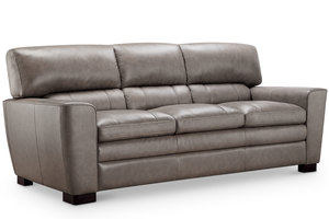 "Wilson 86"" All Leather Sofa"