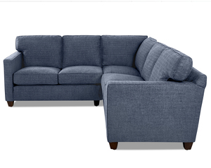 Carter L Shape Sectional w/ Down Blend (Choice of Colors)