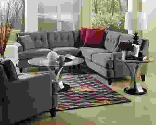 Barbara 77575 - 70575 Sectional - 450 Fabrics and Leathers