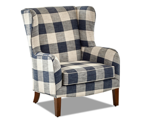 Colleen Wing Back Accent Chair (Choice of Colors)
