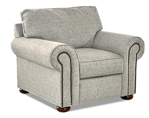 Hartley Accent Chair and Ottoman (3 Colors)