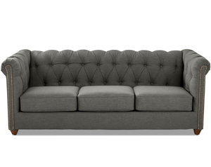 "Keaton 88"" Tufted Sofa (Choice of 3 Colors)"