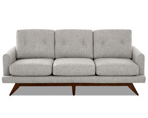 "Kendal 86"" Wood Base Sofa (Choice of 2 Colors)"