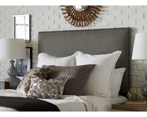 Vince Twin Full/Queen or King Size Upholstered Headboard (2 Colors)
