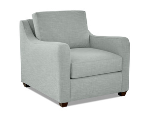 Paige Oversized Chair and Ottoman (4 Colors)