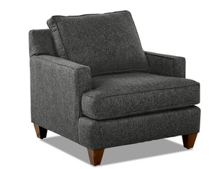Paxton Accent Chair and Ottoman (4 Colors)