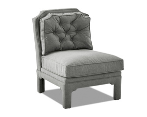 Sidney Button Tufted Occasional Chair