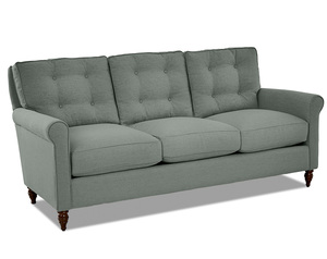 "Trent 85"" Down Blend Button Tufted Sofa (3 Colors)"