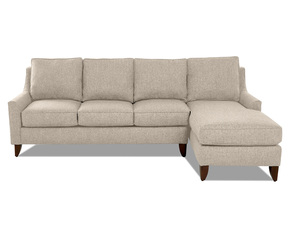 Gianni Sofa Chaise Sectional (Choice of 4 Colors)