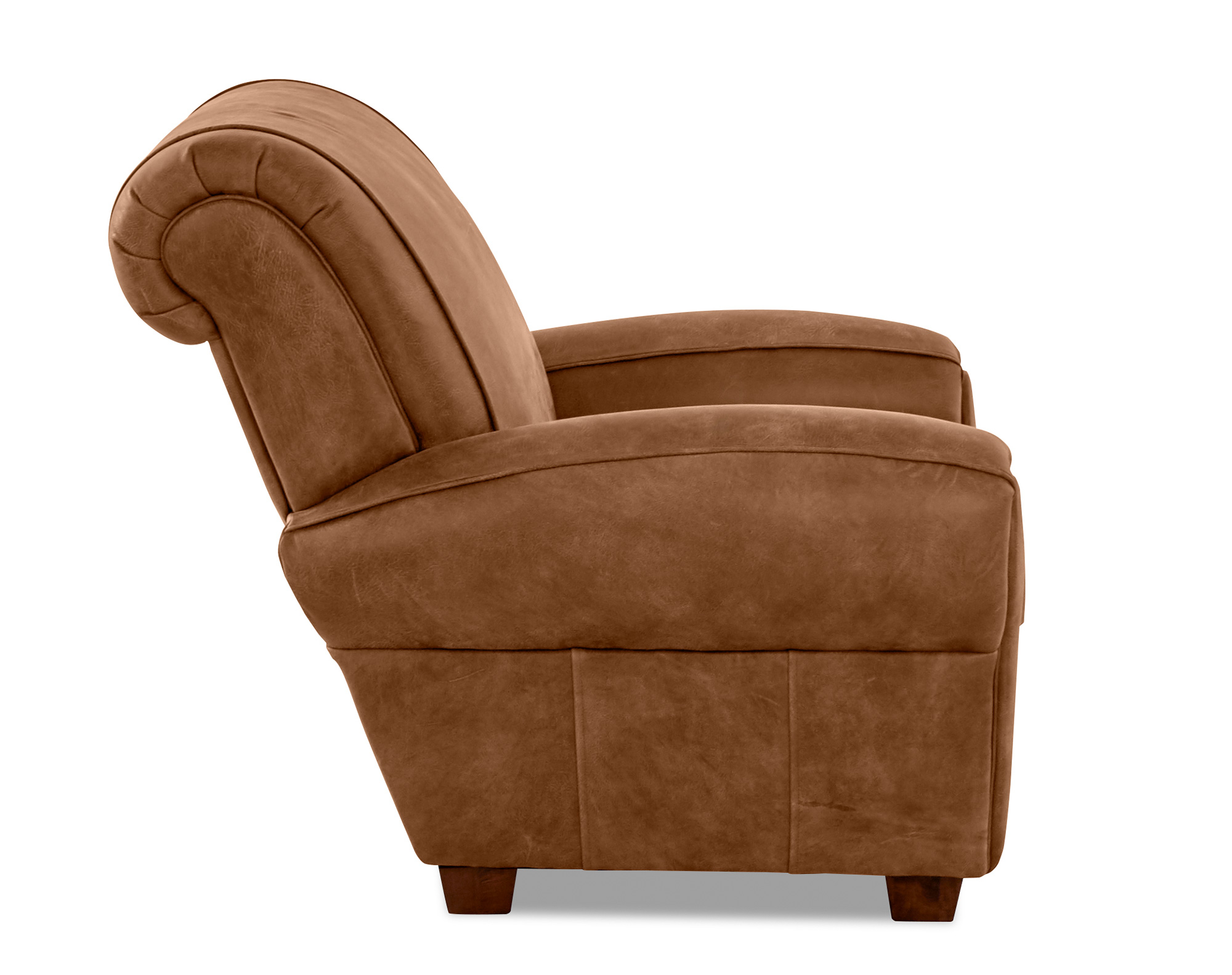 Superb Aiden Leather Accent Chair And Ottoman 2 Sofas And Sectionals Dailytribune Chair Design For Home Dailytribuneorg