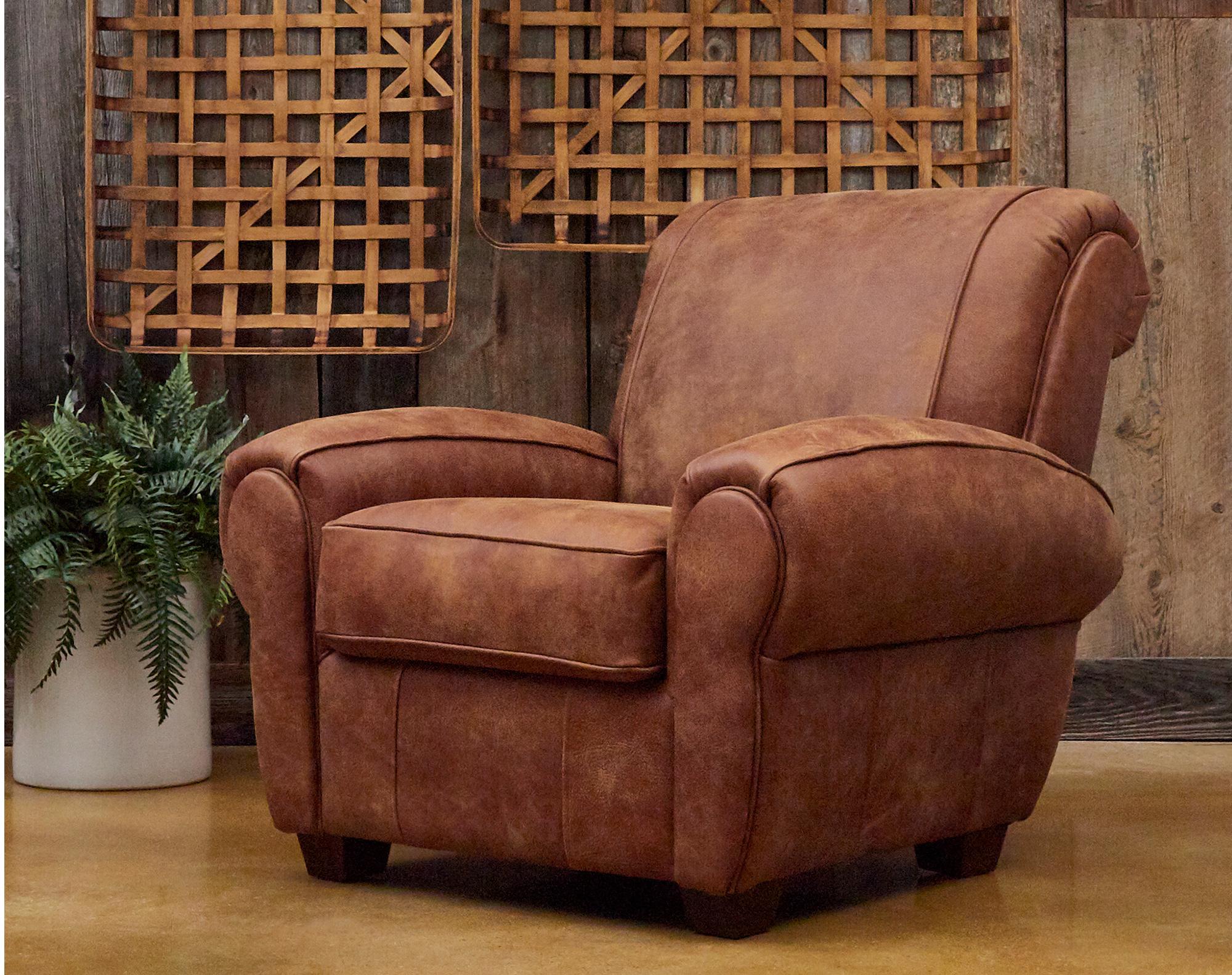 Awesome Aiden Leather Accent Chair And Ottoman 2 Sofas And Sectionals Dailytribune Chair Design For Home Dailytribuneorg