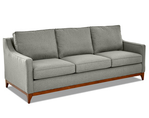 "Ansley 86"" Fabric Wood Base Sofa (3 Colors)"