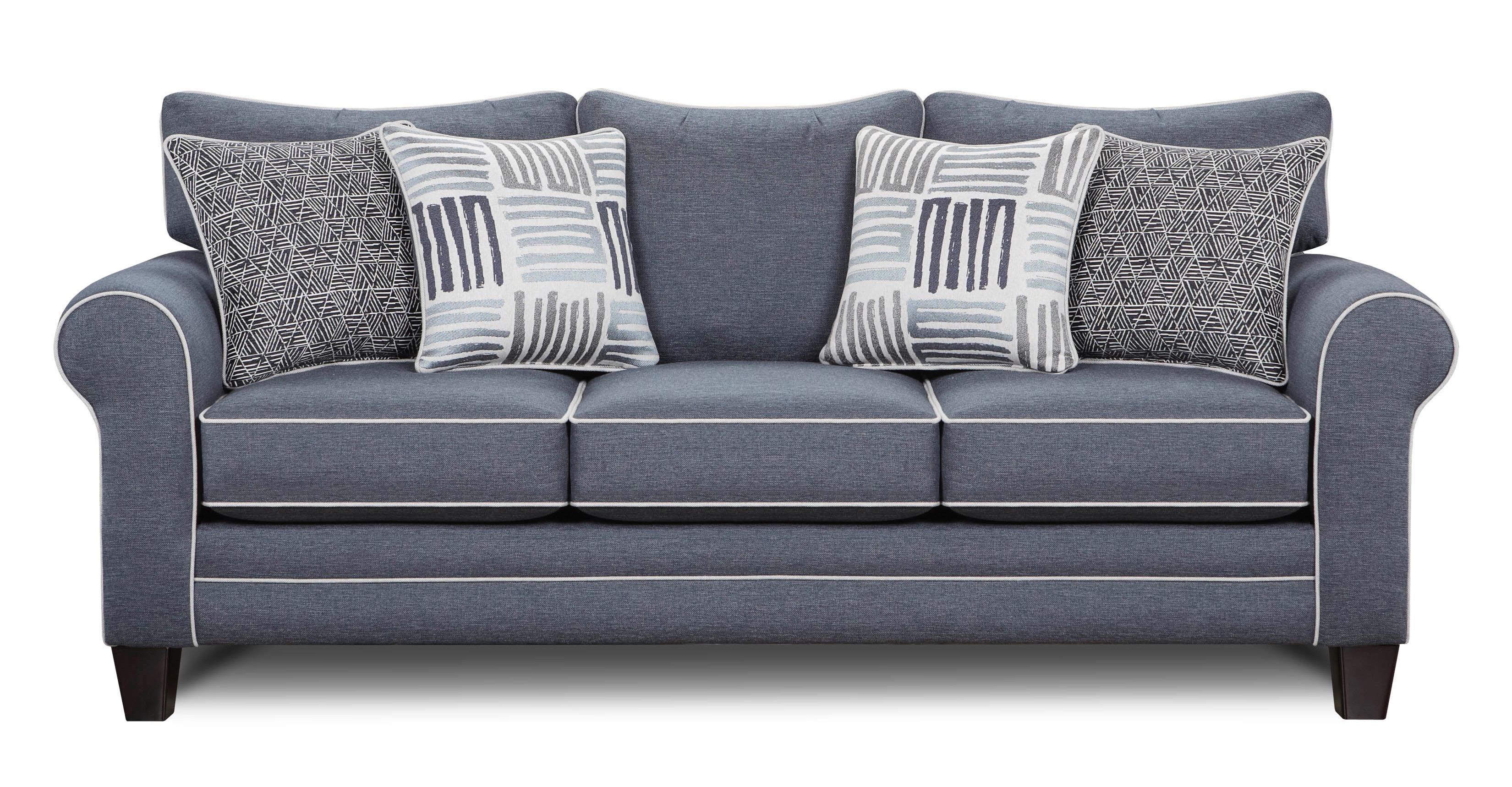- Grande Denim Sleeper Sofa 1144 Grande Denim Sofas And Sectionals