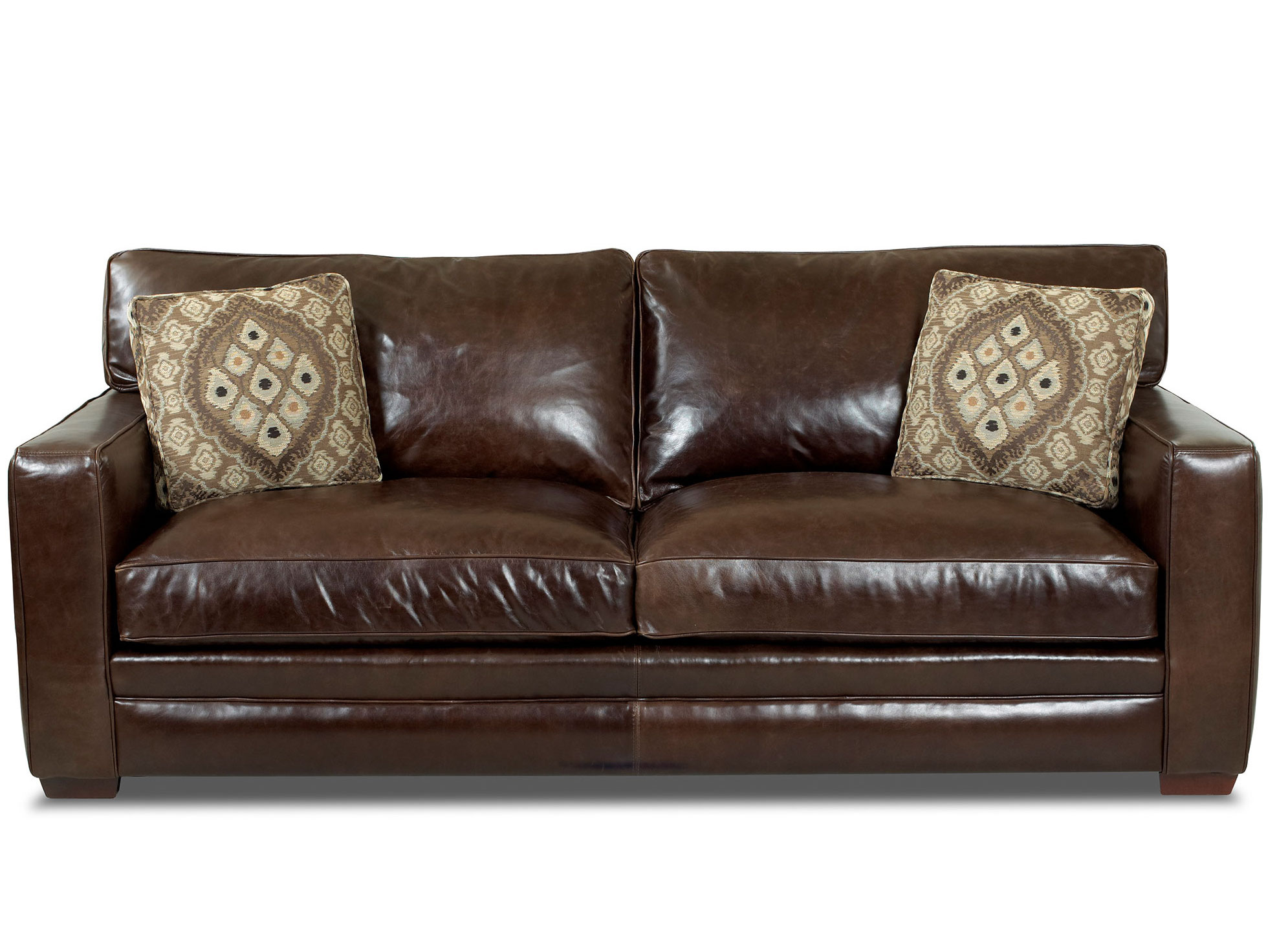 Chicago 92 Leather Queen Sofa Sleeper Sofas And Sectionals
