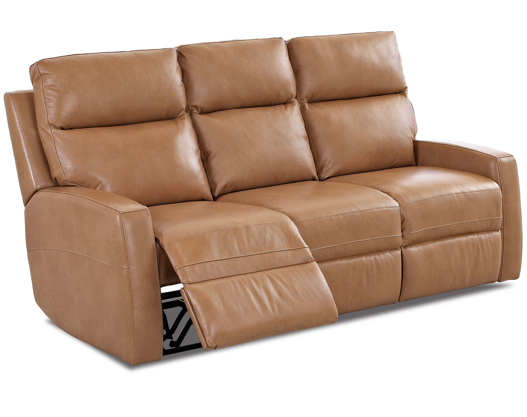 Davion Leather Reclining Sofa Sofas And Sectionals