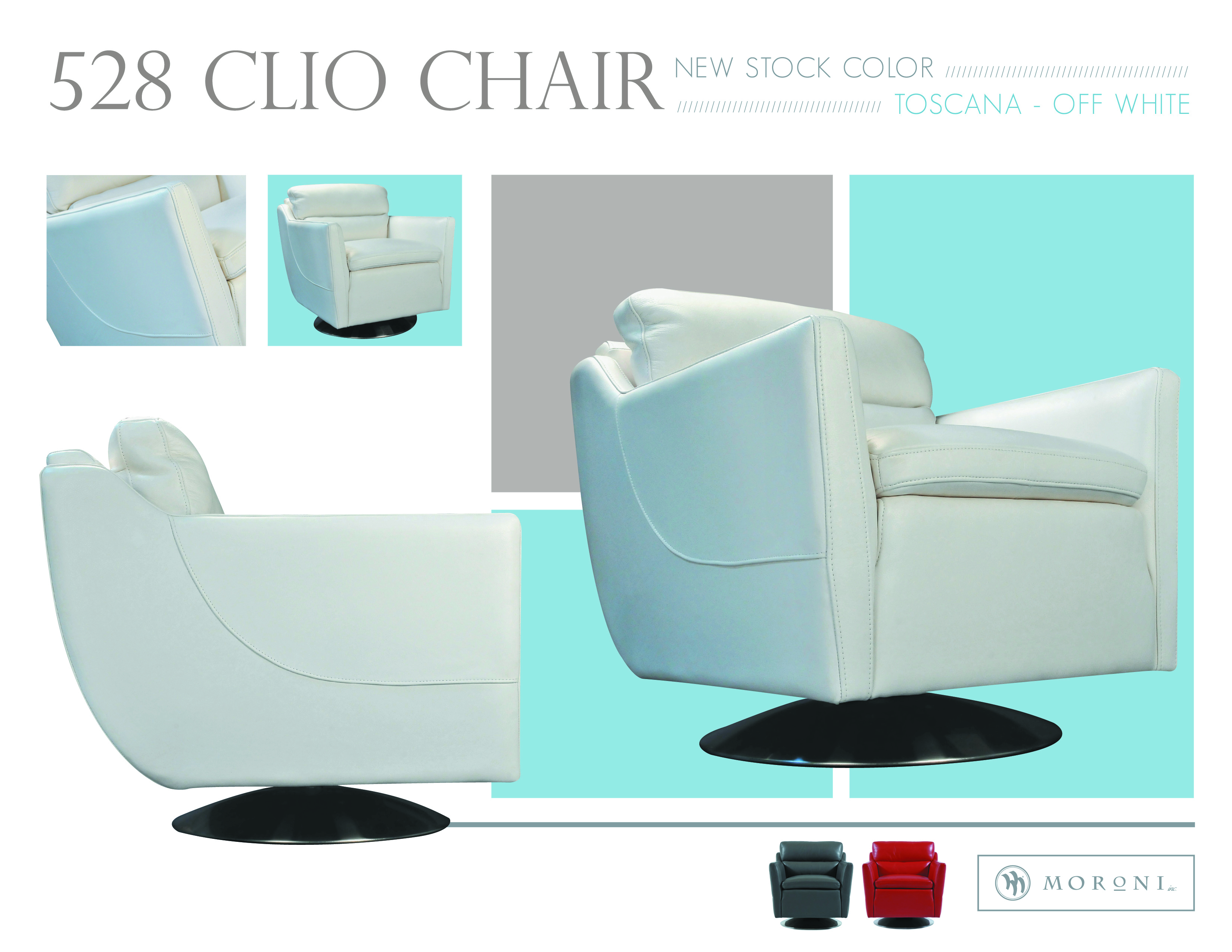 Marvelous Clio Contemporary Chair Off White 52806D2007 Sofas And Ncnpc Chair Design For Home Ncnpcorg