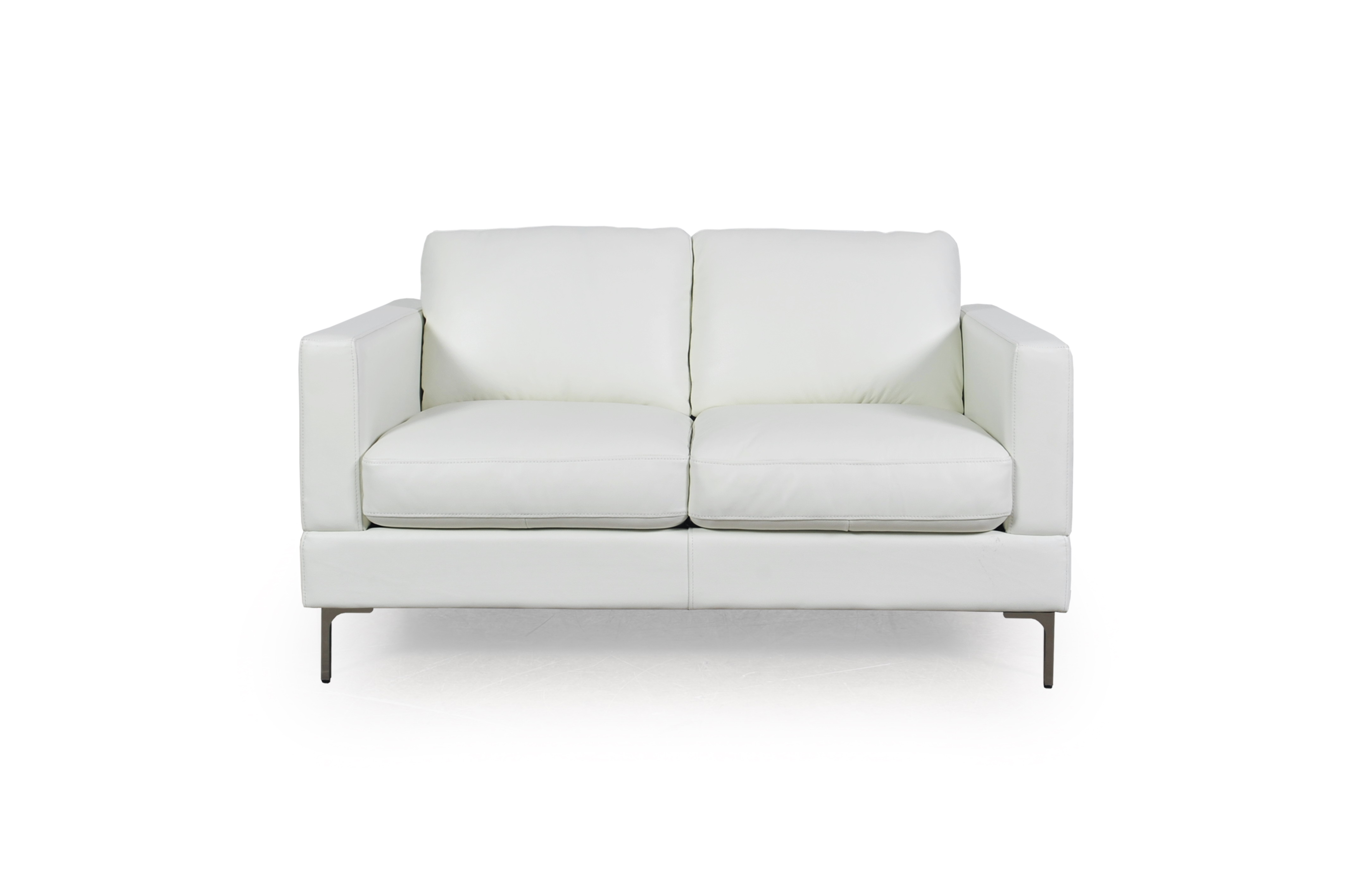 Incredible Tobia Snow White Leather Sofa Collection Sofas And Sectionals Gmtry Best Dining Table And Chair Ideas Images Gmtryco
