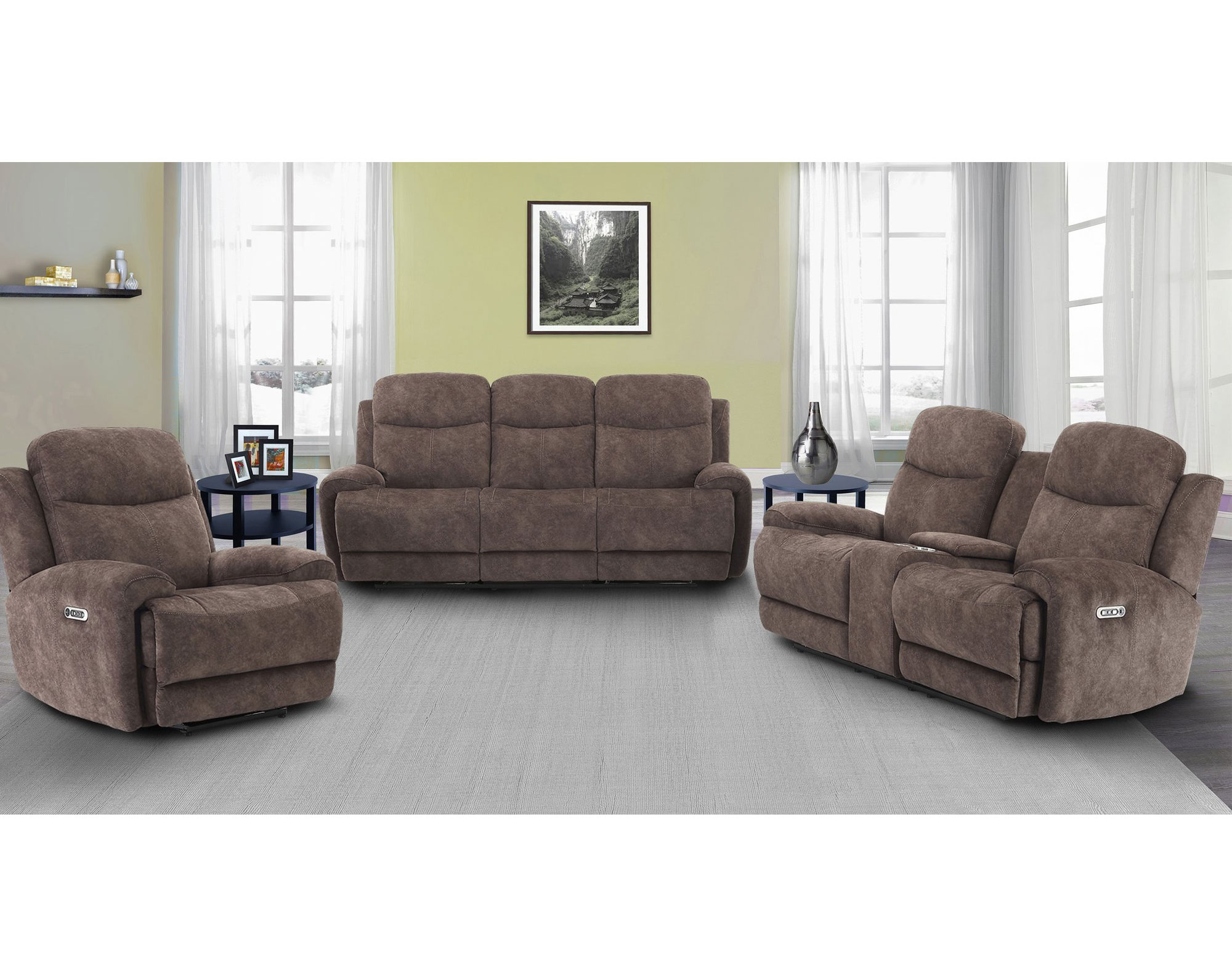 Remarkable Bowie Range Power Reclining Sofa With Power Sofas And Caraccident5 Cool Chair Designs And Ideas Caraccident5Info