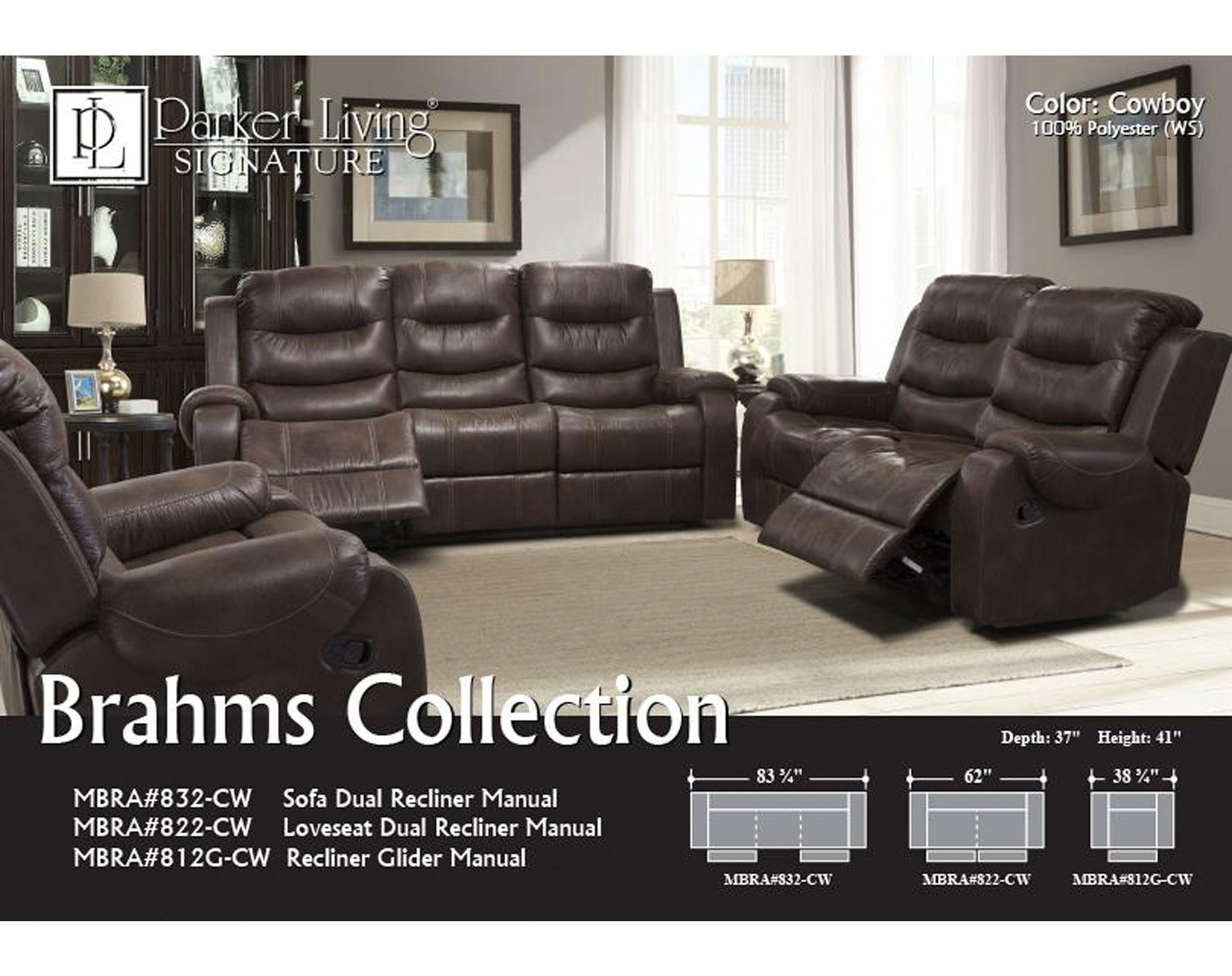Stupendous Brahms Cowboy Double Reclining Sofa Sofas And Sectionals Spiritservingveterans Wood Chair Design Ideas Spiritservingveteransorg