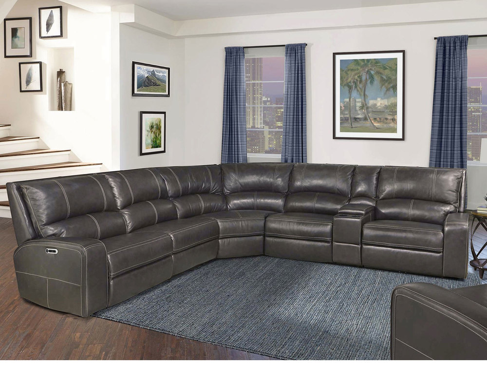 Prime Swift Twilight 6Pc Power Reclining Sectional Sofas And Ibusinesslaw Wood Chair Design Ideas Ibusinesslaworg
