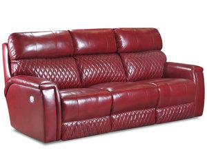 High Rise Double Reclining Sofa