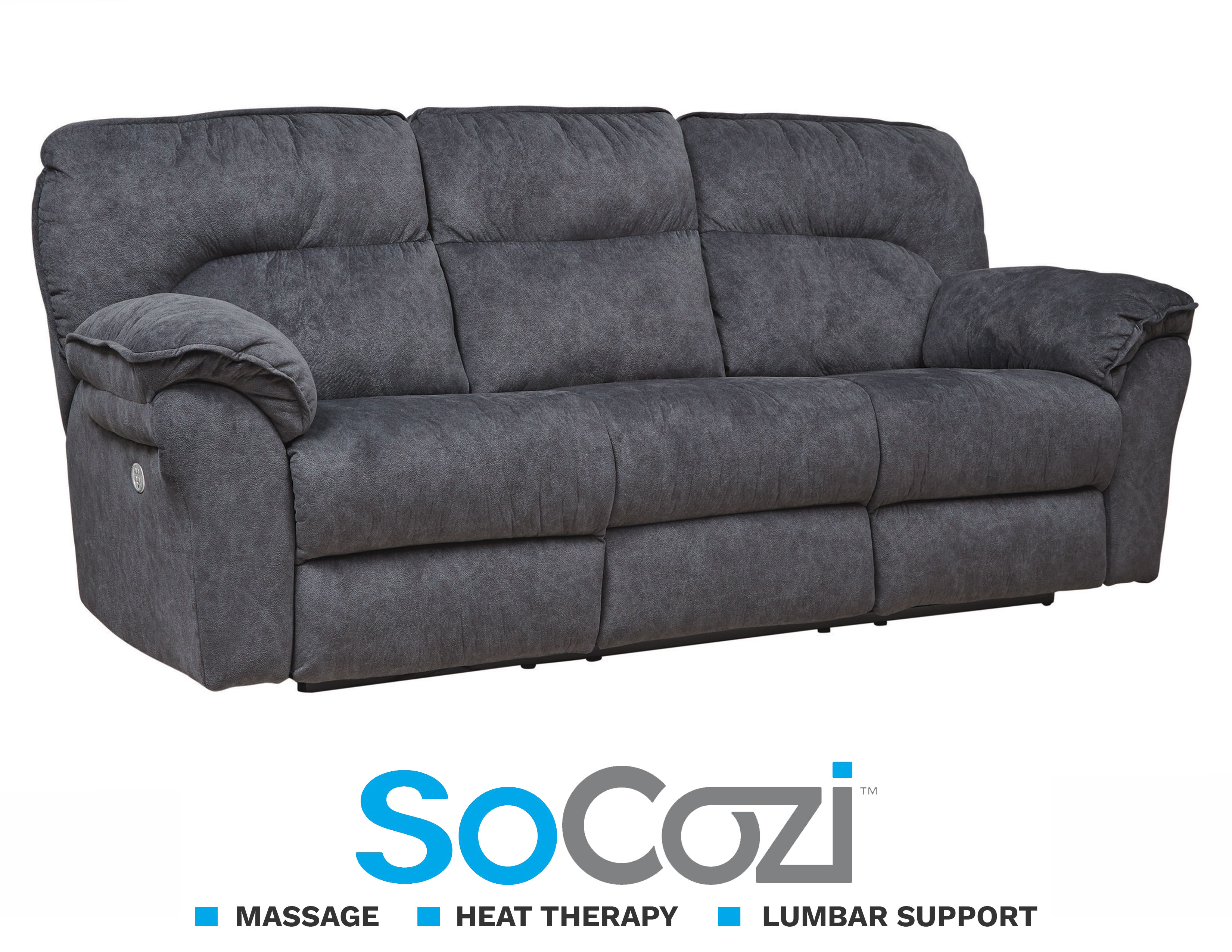 Surprising Full Ride Reclining Sofa W Massage Heat Sofas And Caraccident5 Cool Chair Designs And Ideas Caraccident5Info