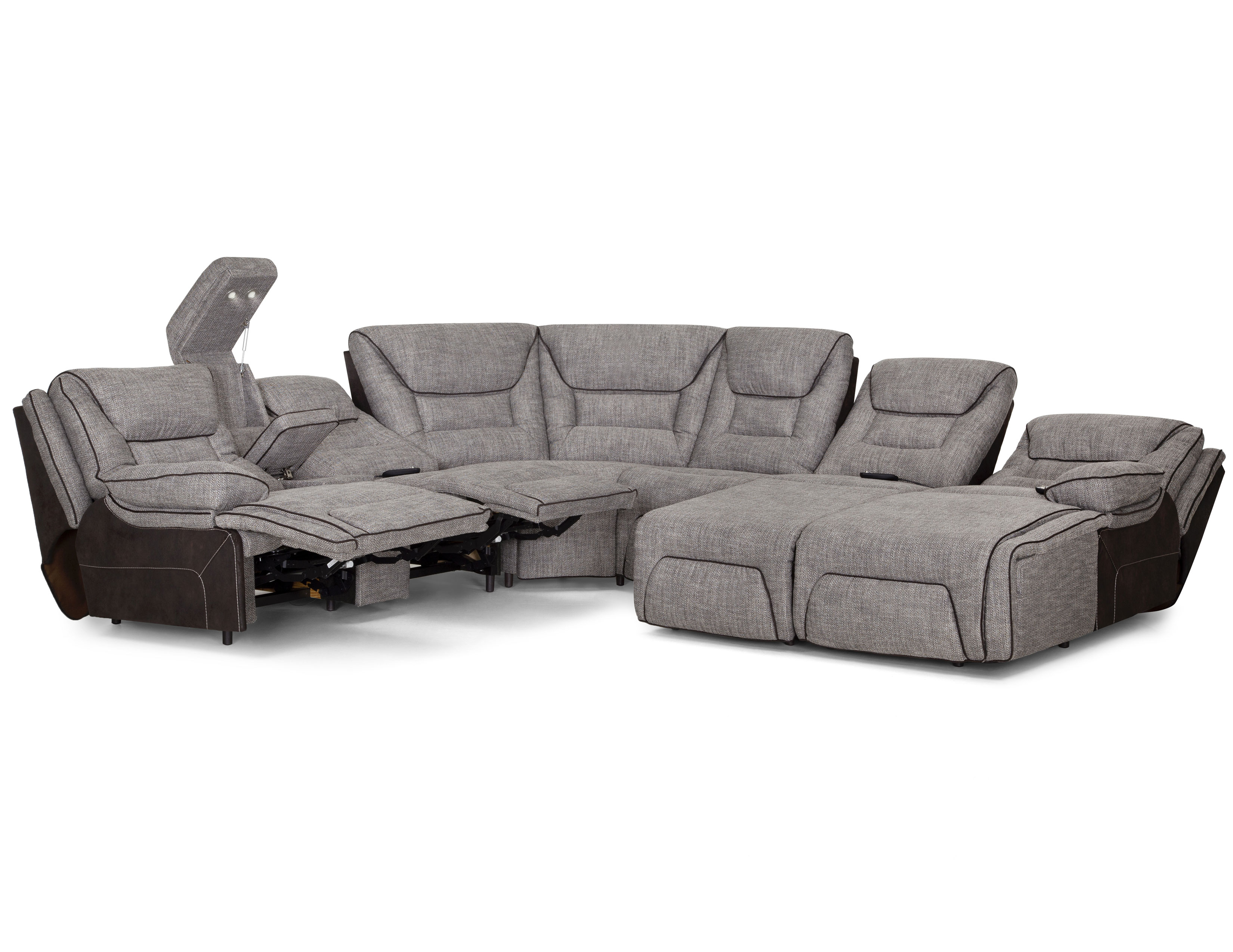Centennial 704 Power Reclining Sectional with | Sofas and ...