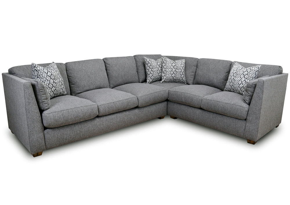Greystone 821 Modern Transitional Two Piece | Sofas and Sectionals