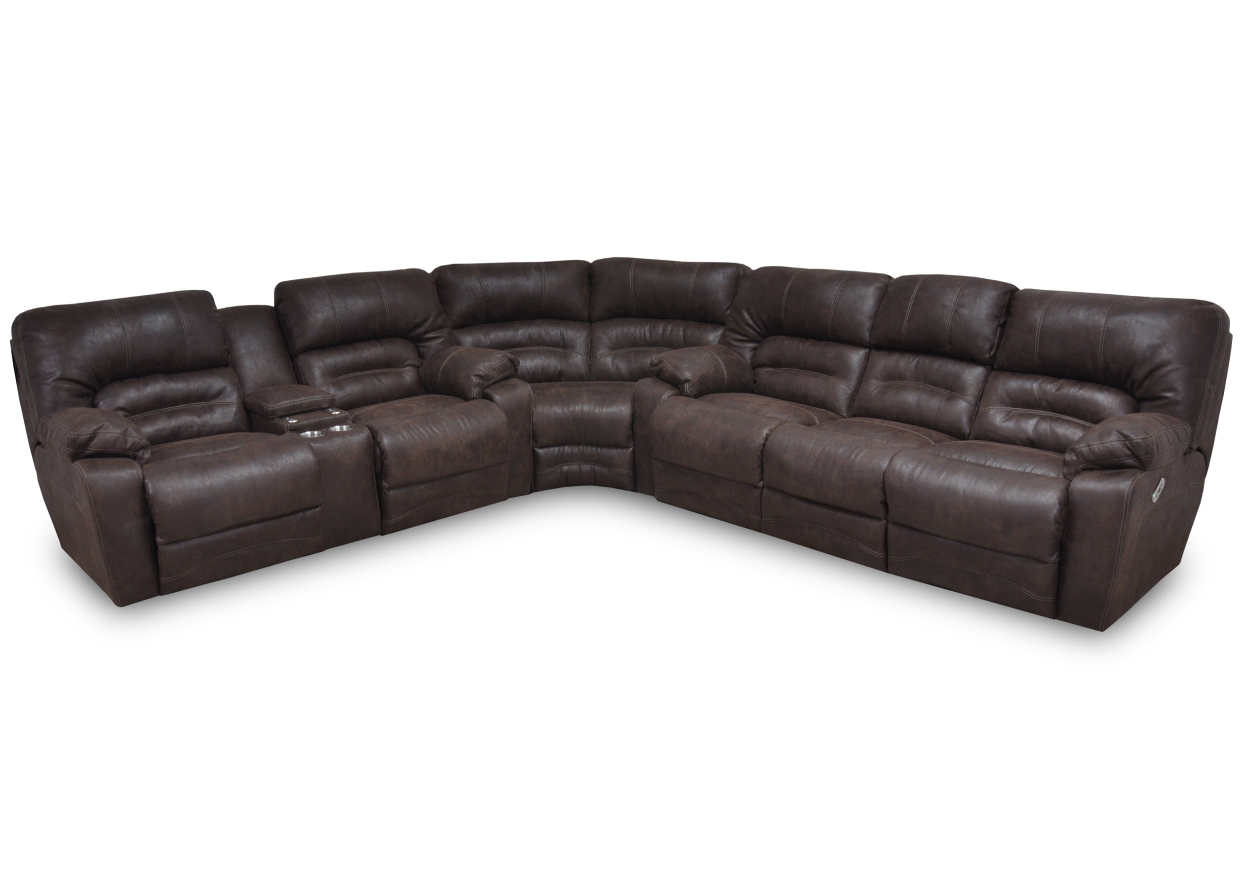 Sensational Legacy 500 Reclining Sectional In Chocolate Or Sofas And Unemploymentrelief Wooden Chair Designs For Living Room Unemploymentrelieforg