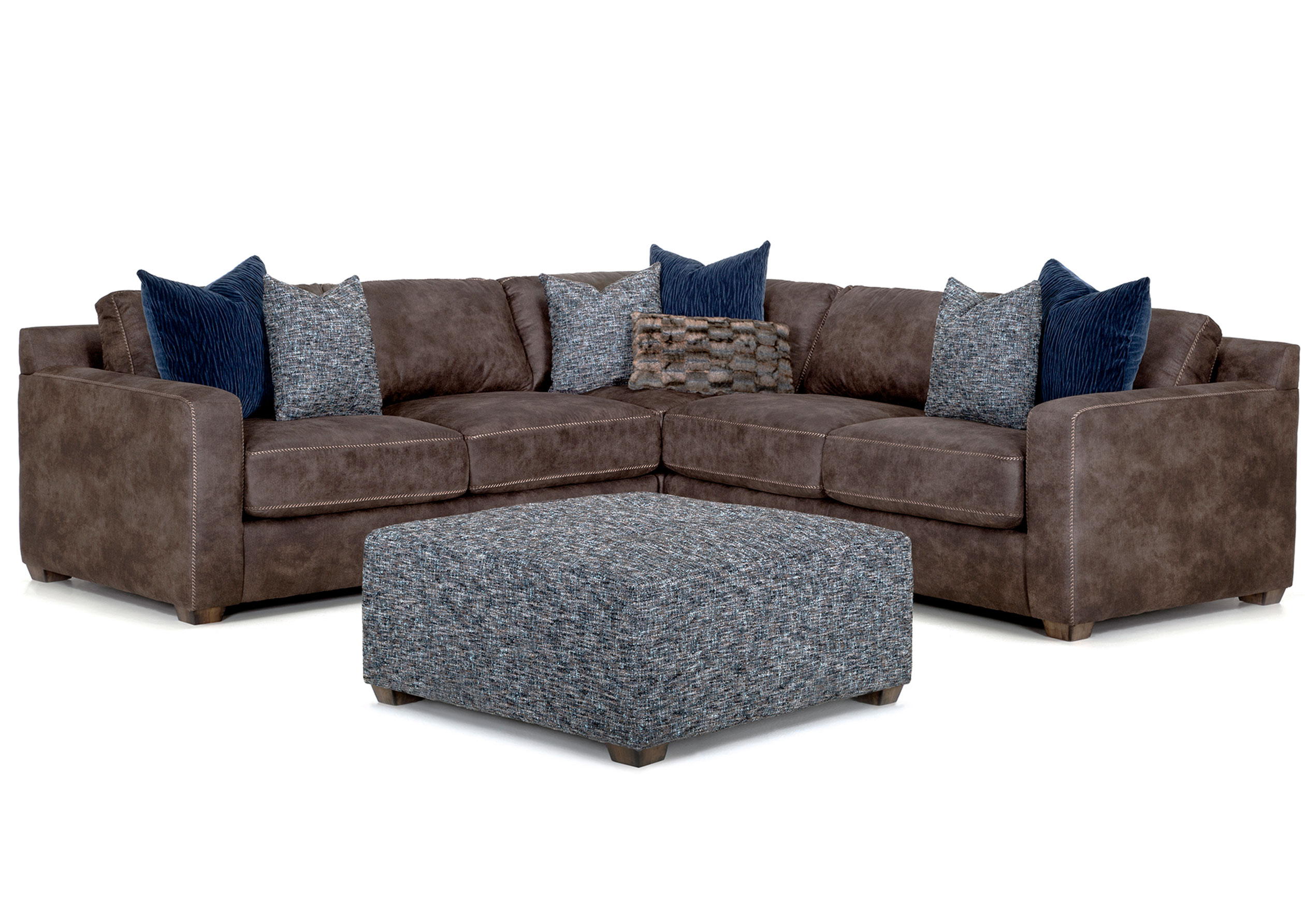 Prime Jameson Three Piece Sectional Includes Sofas And Sectionals Bralicious Painted Fabric Chair Ideas Braliciousco