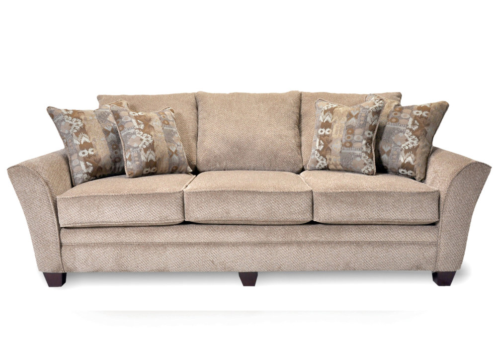 Ashland 811 Modern Sofa - Pillows Included | Sofas and Sectionals