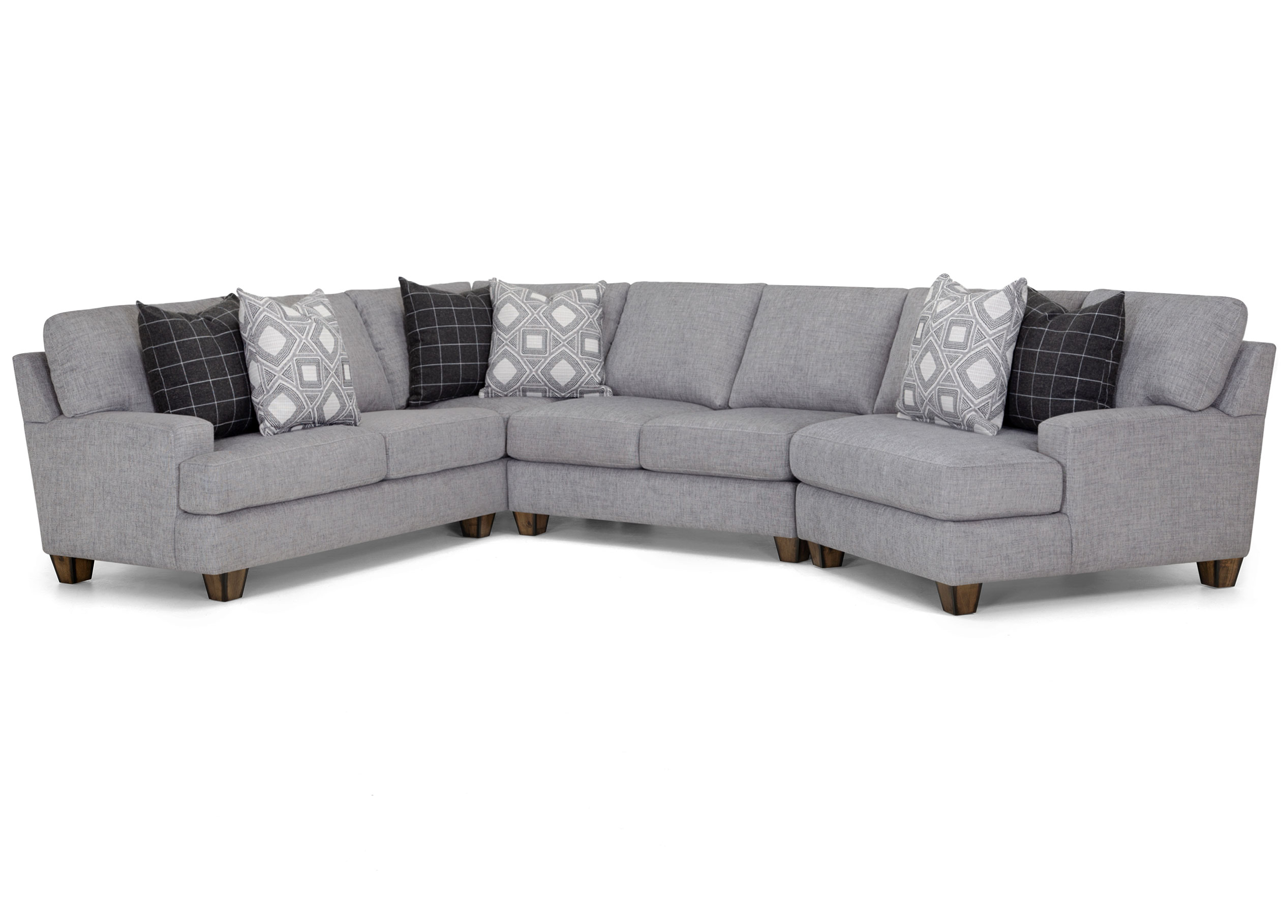 Belmont 3 Piece Sectional Sofas And