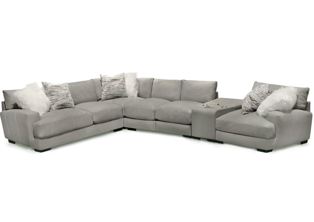 Amazing Antonio Leather Modular Sectional With Wireless Sofas And Beatyapartments Chair Design Images Beatyapartmentscom