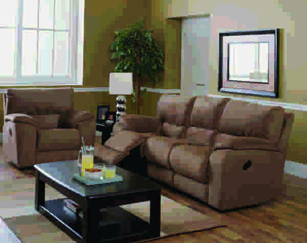Shields Sofa Recliner w/Table