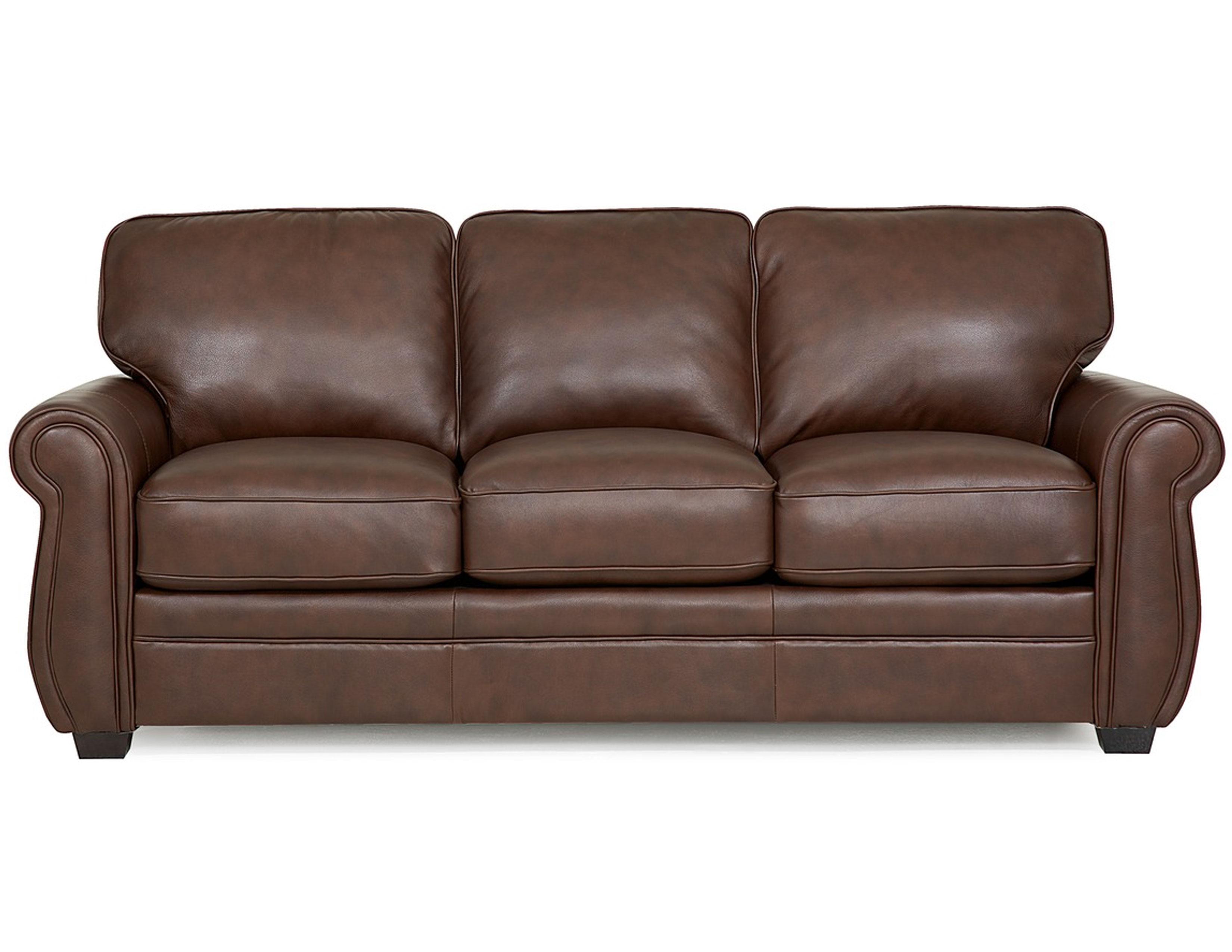 Thompson 77792 Leather Sofa 100