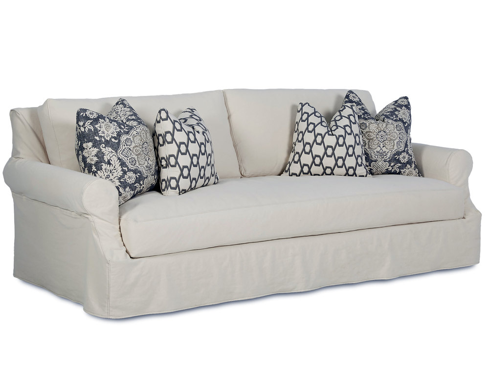 Barrett 90 Slipcover Sofa With Down Sofas And Sectionals