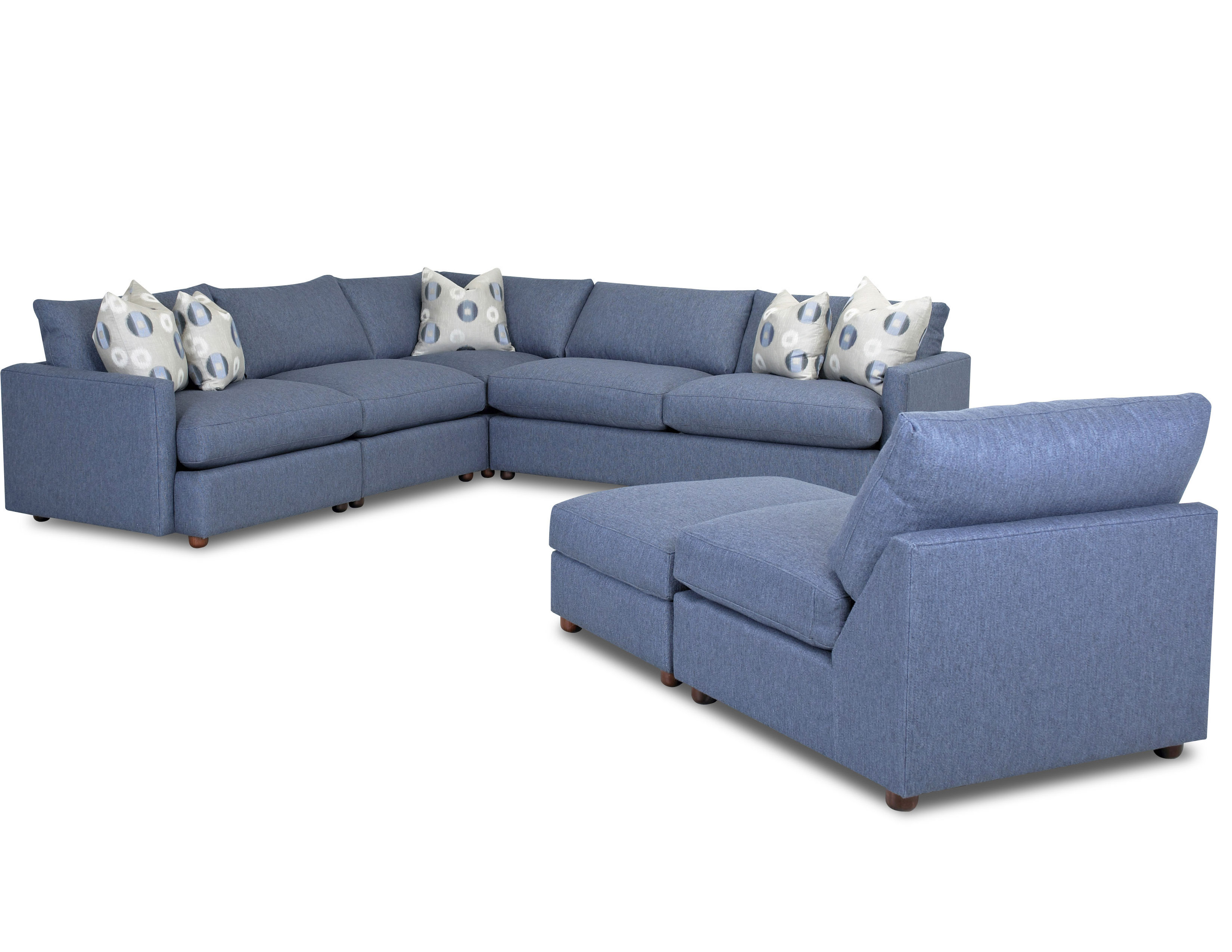 Leisure D4033 Modular Sectional With