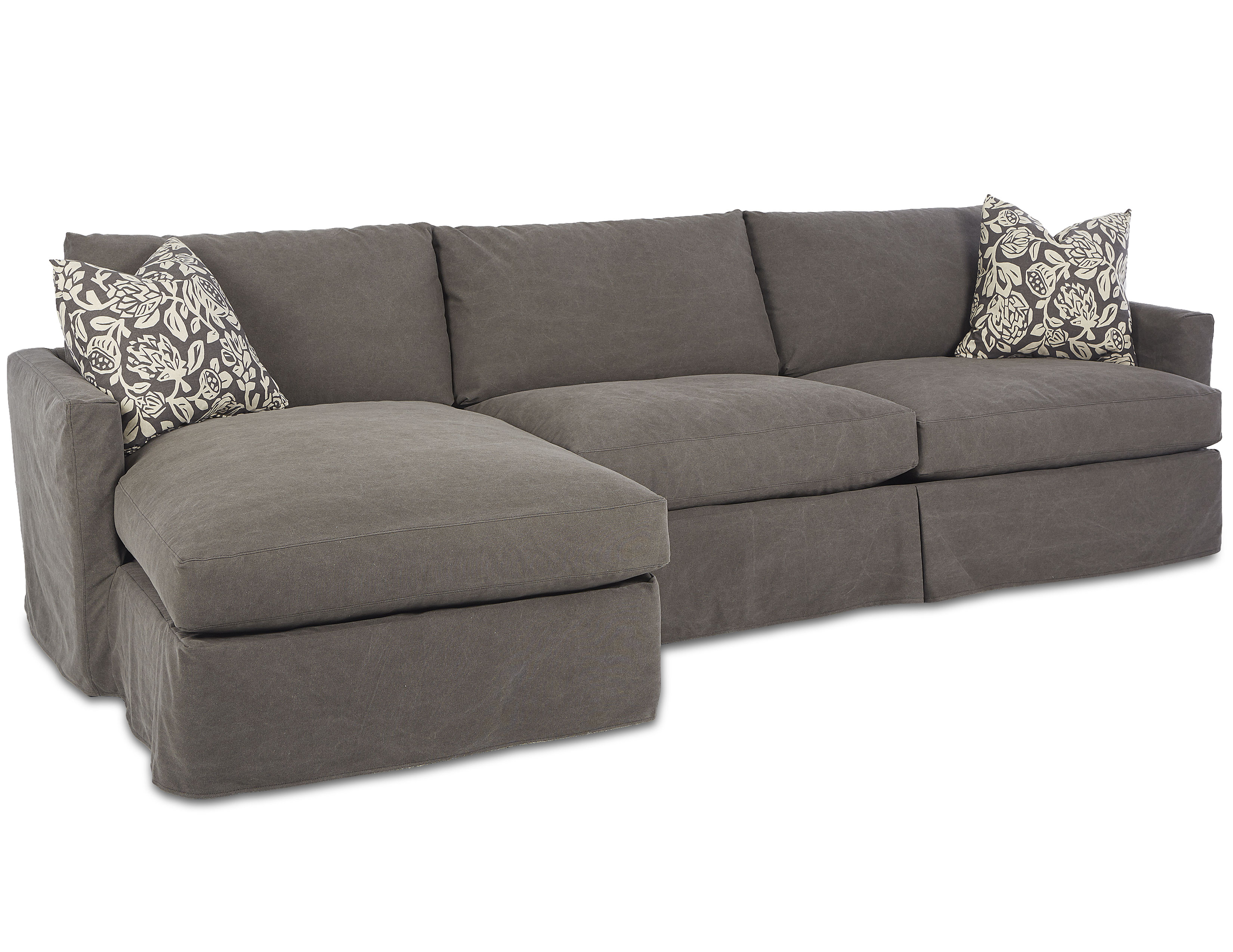 Leisure D4133 Slipcover Sectional With