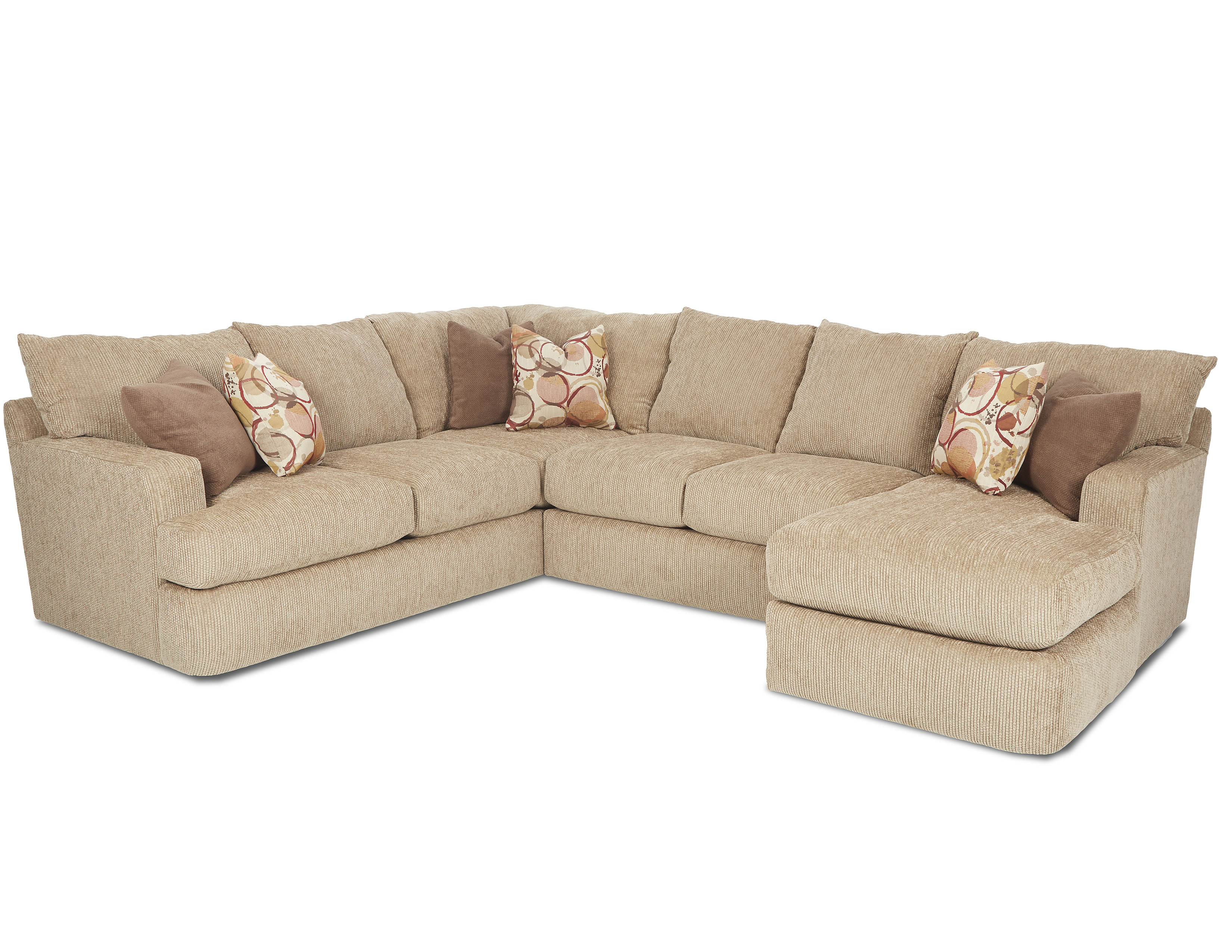 Oliver K41400 Sectional Hundreds Of Fabrics Sofas And