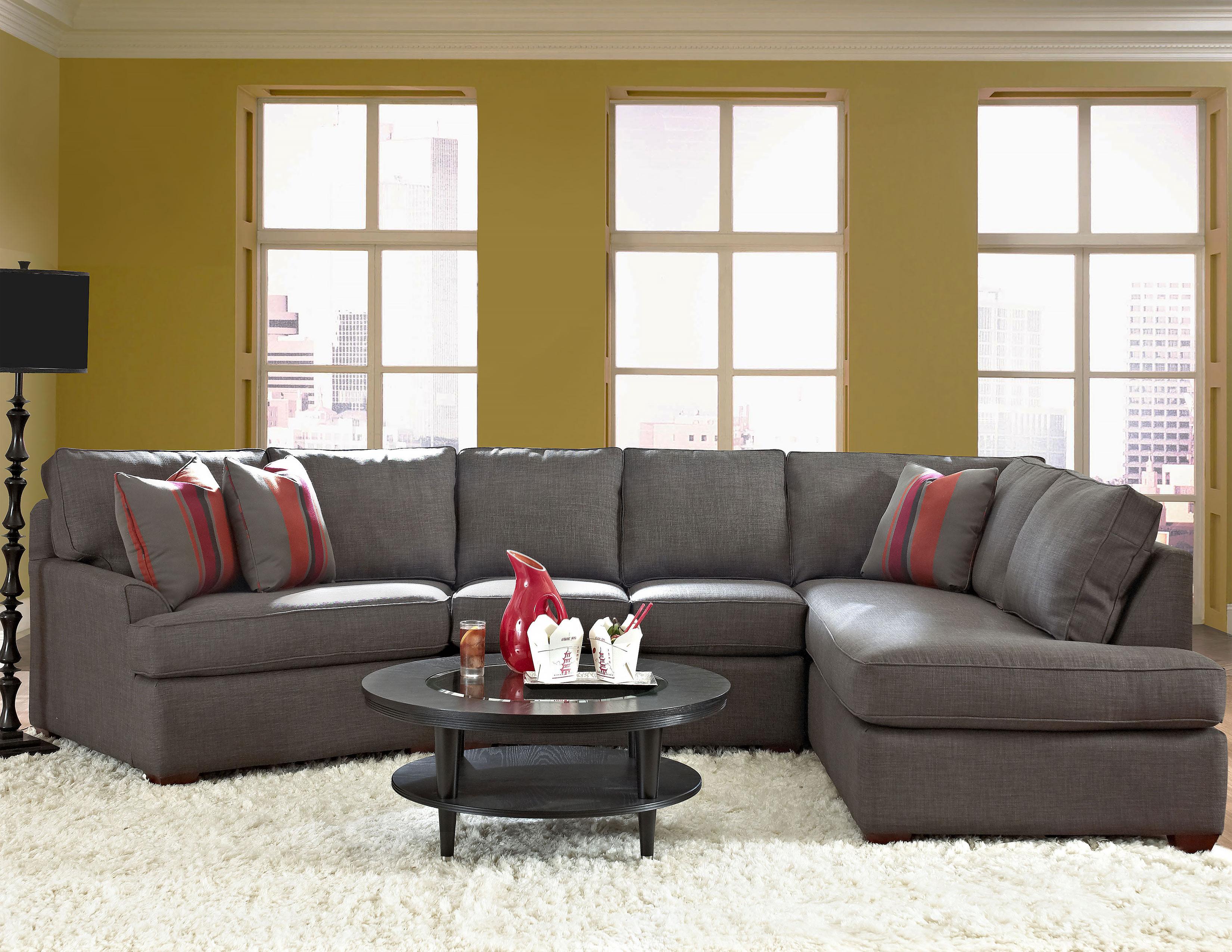 Grady K55260 Sectional Hundreds Of Fabrics Sofas And