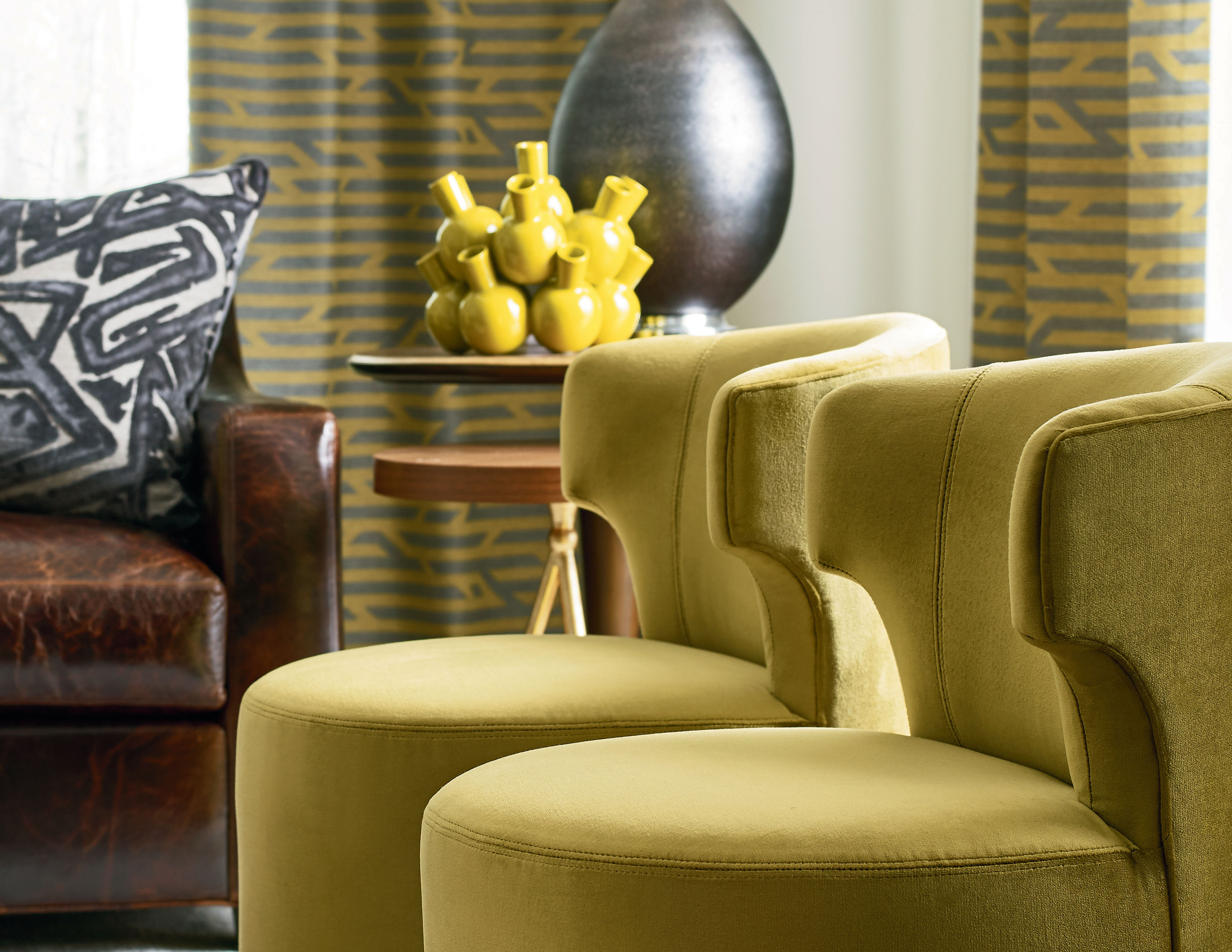 Crofton Swivel Chair Made To Order Fabrics Sofas And Sectionals
