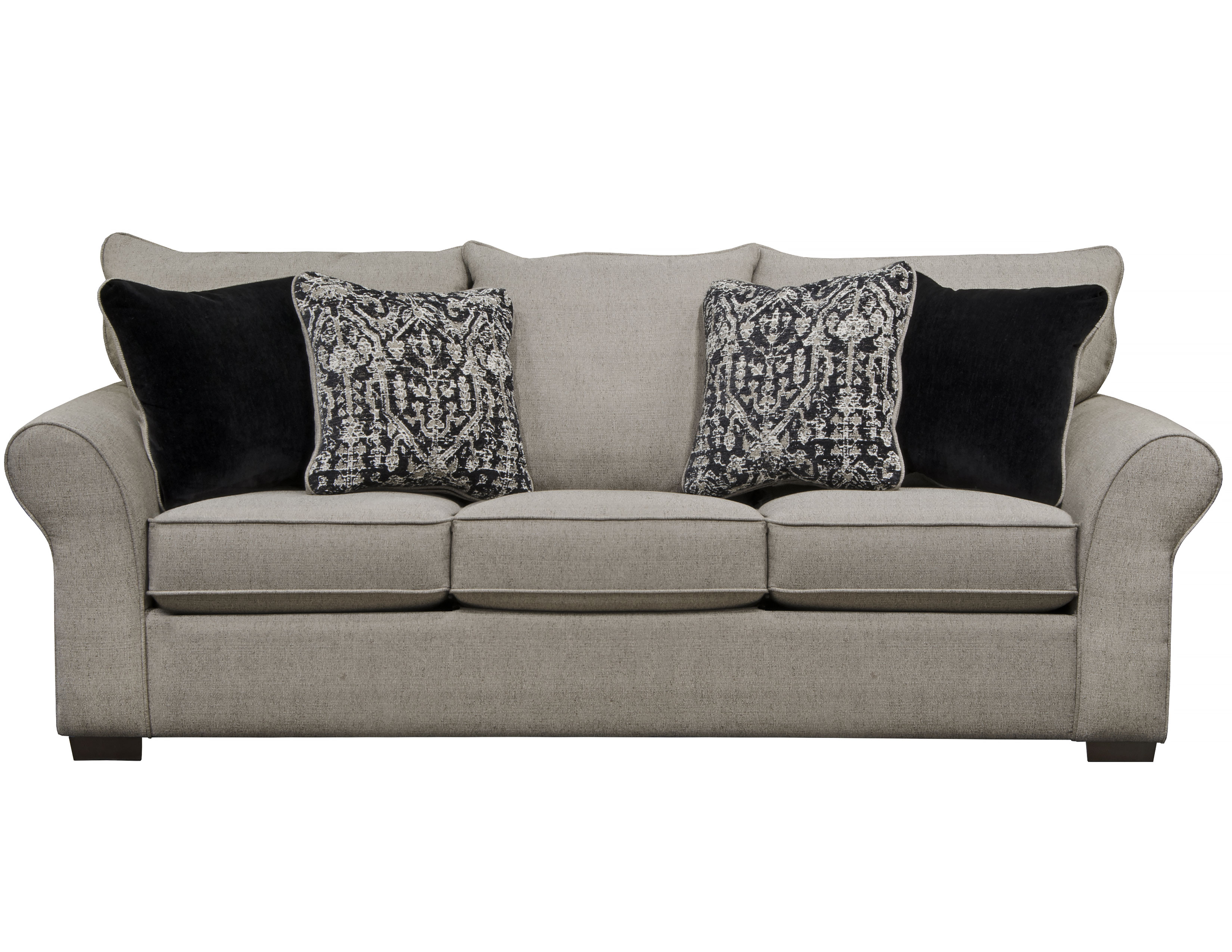 Maddox 96 Sofa In Fossil Includes